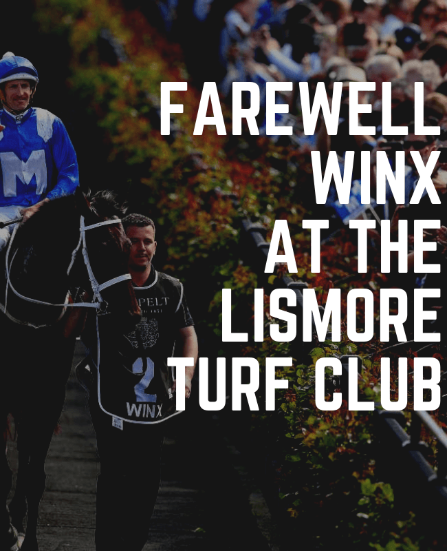 FAREWELL TO WINX – Races Saturday 13th April