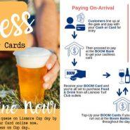 Cashless Bar Cards