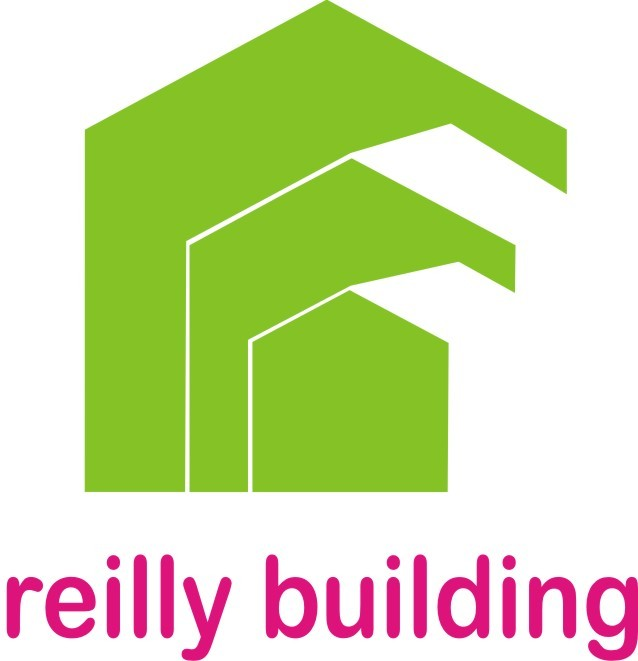 Reilly building green and pink