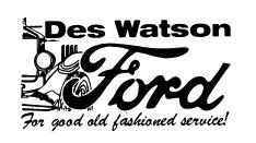 Des Watson Ford