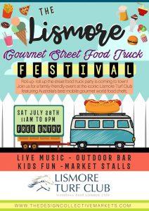 Gourmet Street Food Truck Festival Saturday 28th July @ Lismore Turf Club | North Lismore | New South Wales | Australia
